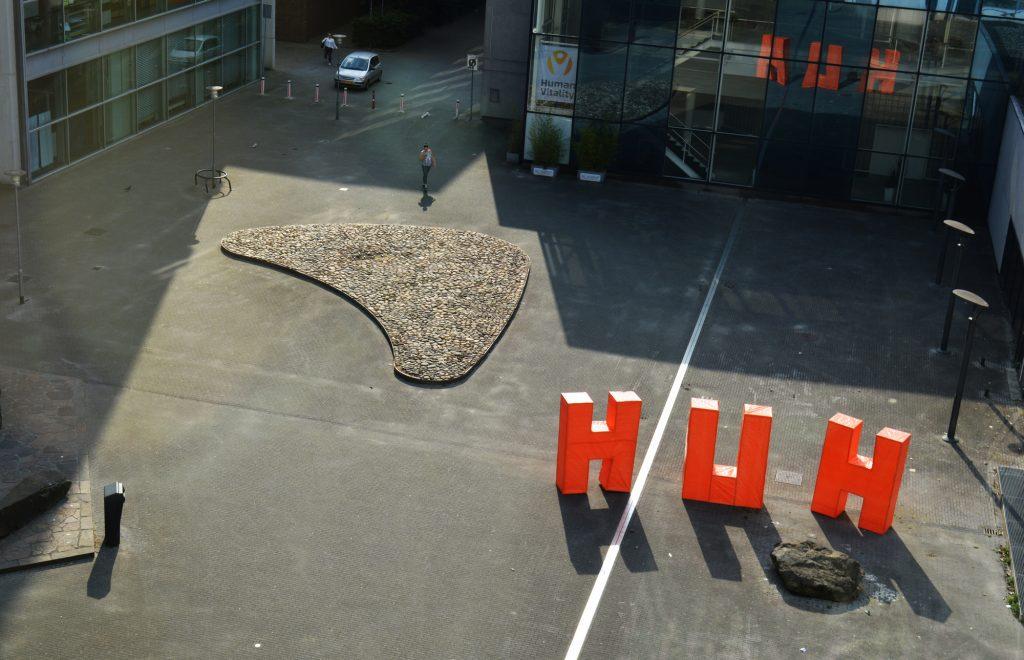"""Huh?"" installation by Pauline Wiersema"